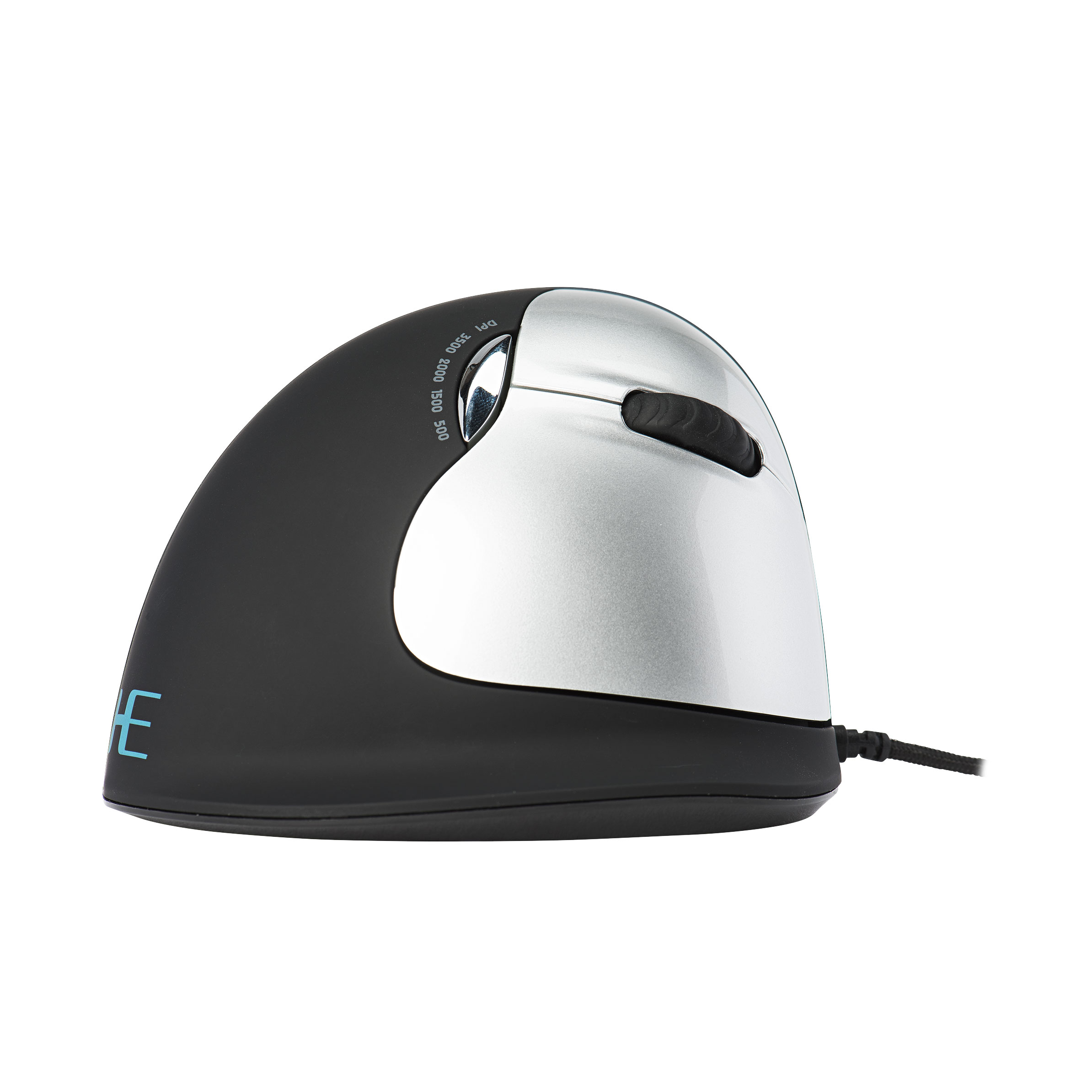 R-Go HE Mouse, Ergonomic mouse, Large (Hand Size above 185mm), Right Handed, wired - 4