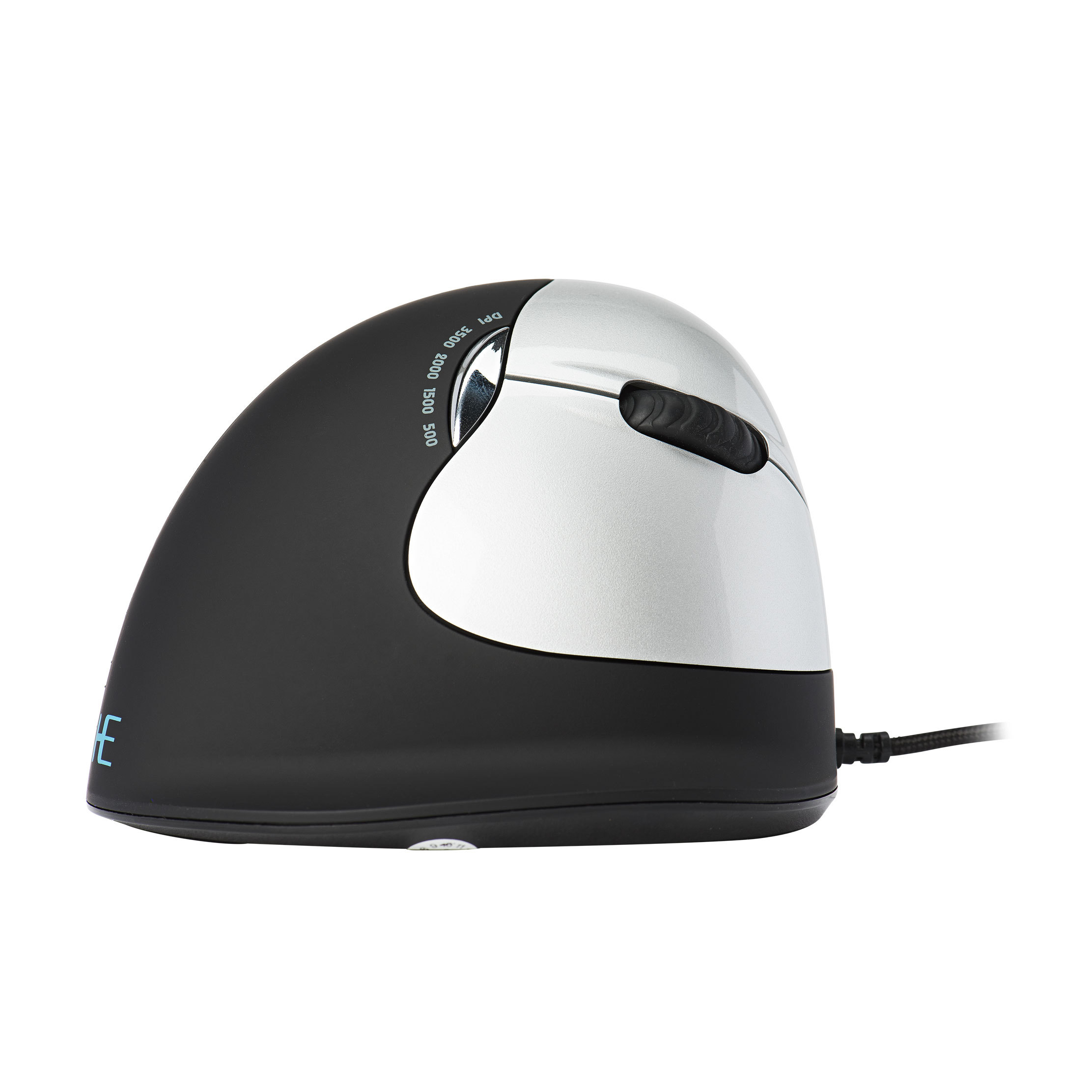 R-Go HE Break Mouse, Ergonomic mouse, Anti-RSI software, Medium (Hand Size 165-185mm), Right Handed, Wired - 7