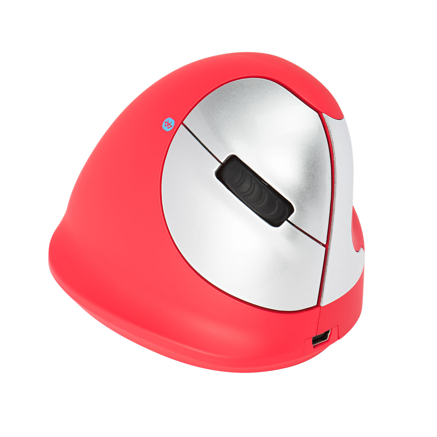 R-Go HE Sport Ergonomic Mouse, Medium (Hand Size 165-185mm), Right Handed, Bluetooth, Red