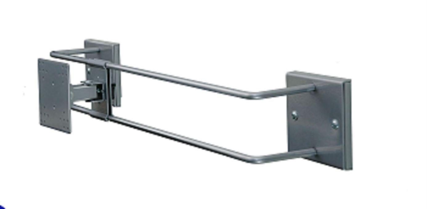 R-Go Alternative Wall Bracket, adjustable, silver - 1