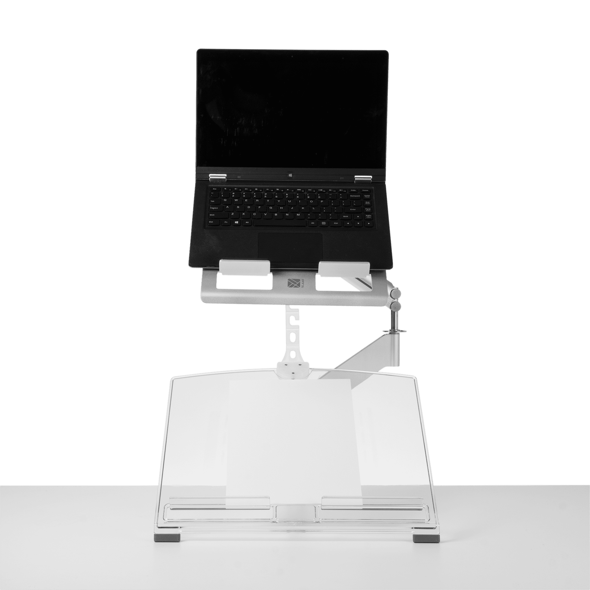 R-Go Morelia Notebook Holder, Tablet holder, silver - 2