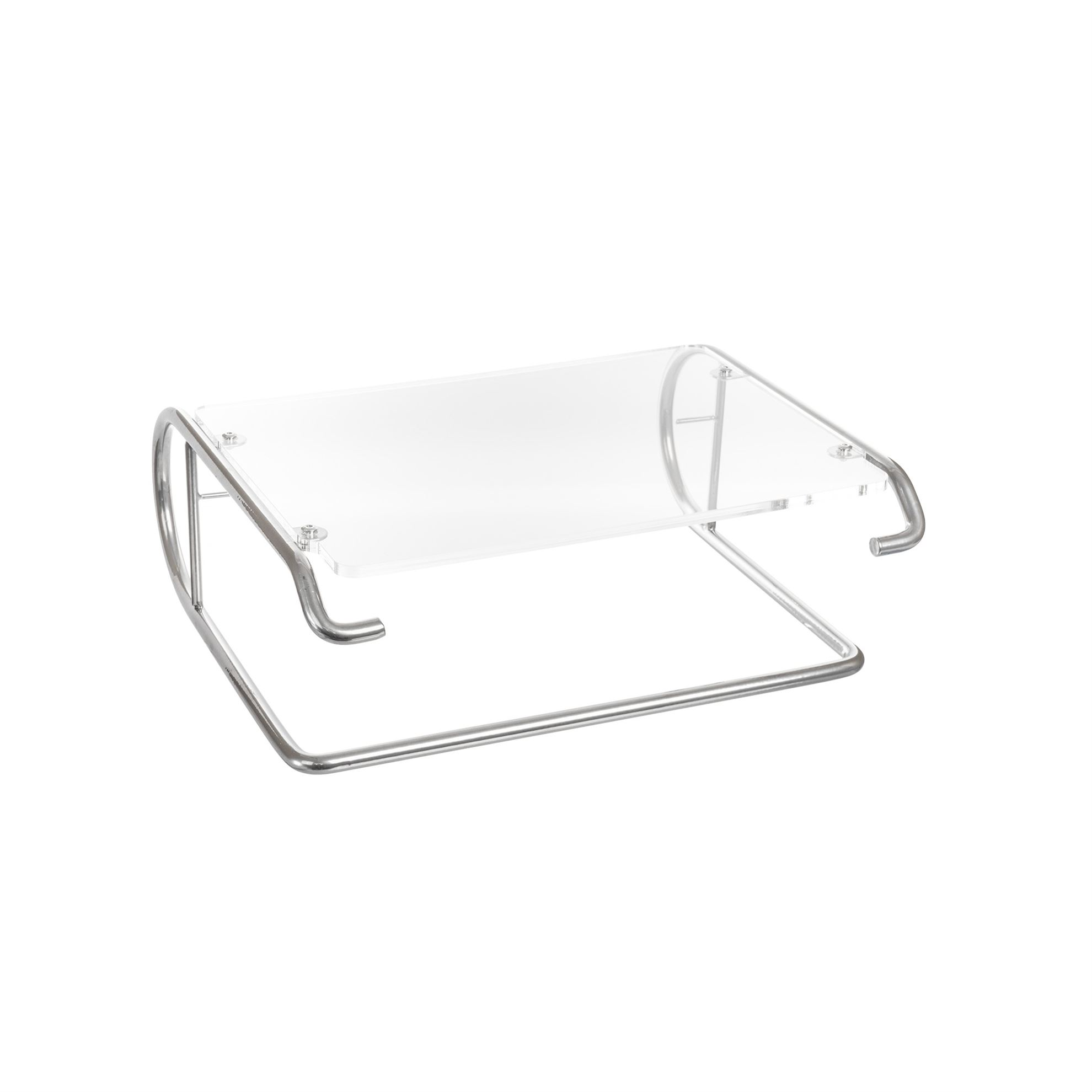 R-Go Steel Essential Monitor Stand, silver - 1