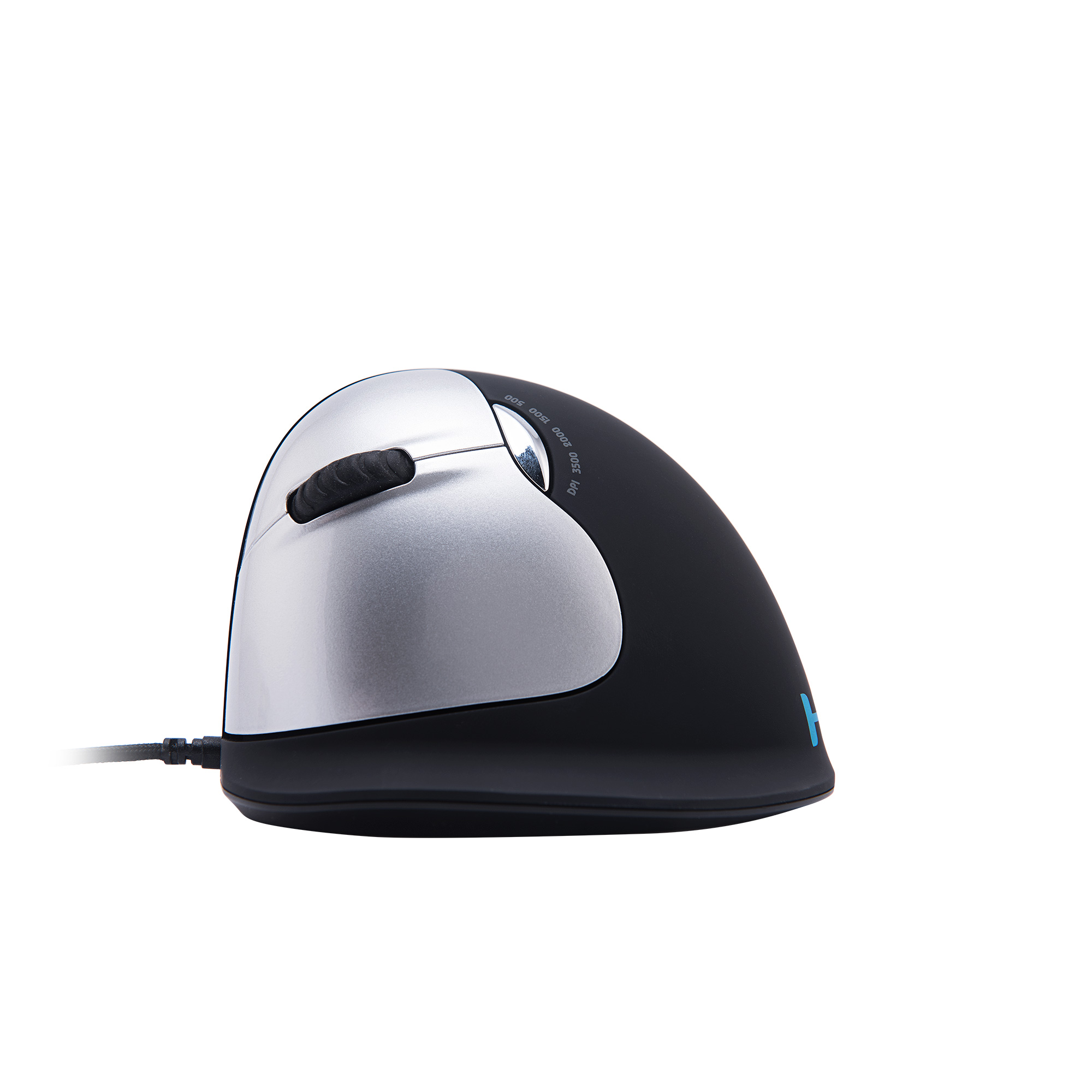 R-Go HE Mouse, Ergonomic mouse, Large (Hand Size above 185mm), Left Handed, wired - 2
